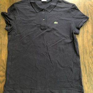 Lacoste Navy Blue Classic Polo